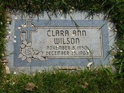Clara Ann Wilson