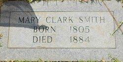 Mary A <I>Clark</I> Smith