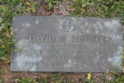Sgt David W. Lindsey