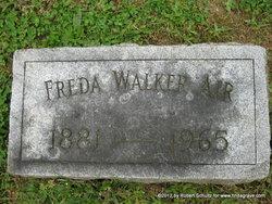 "Fredricka Barbara ""Freda"" <I>Walker</I> Air"