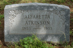 Alfaretta <I>Gardner</I> Atkinson