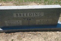 Mary Delphia <I>Clements</I> Breeding