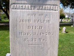 Margaret <I>Marshall</I> Halpin