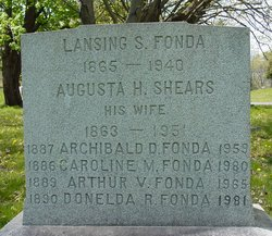 Augusta H. <I>Shears</I> Fonda