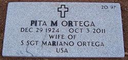 """Guadalupe """"Pita"""" <I>Mendoza</I> Ortega"""