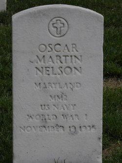 Oscar Martin Nelson