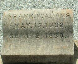 Frank W. Adams