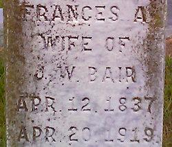 Frances A. <I>Bair</I> Bair