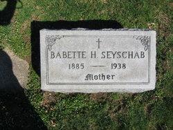 Babette H. <I>Hertel</I> Seyschab