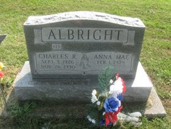 """Charles R """"Red"""" Albright"""