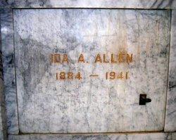 Ida A <I>Anderson</I> Allen