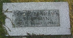 "Frederick Benham ""Fred"" Sherman"
