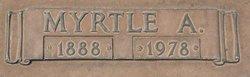 Myrtle Alice <I>Warner</I> Magee