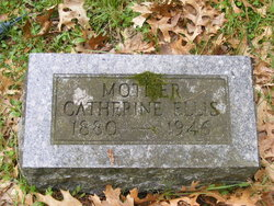 "Catherine ""Kate"" <I>Brown</I> Ellis"