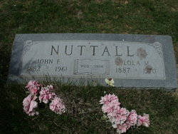 Lola May <I>Bailey</I> Nuttall