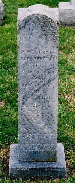 Silas Waller Allen