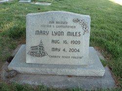 Mary Lyon Miles