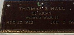 Thomas Edward Hall