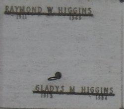 Gladys M Higgins