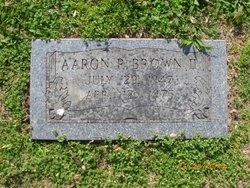 Aaron R. Brown, II