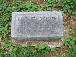Louisa C. <I>Craig</I> Decker