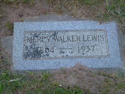 Mercy <I>Walker</I> Lewis