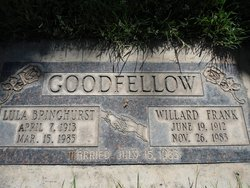 Willard Frank Goodfellow