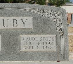 Maude Annie <I>Stocks</I> Juby