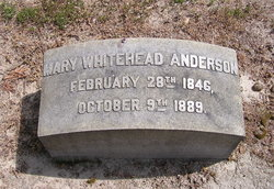 Mary Jane <I>Bynum</I> Whitehead Anderson