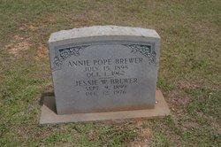 Roxie Ann <I>Pope</I> Brewer
