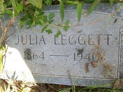Julia Ann <I>Leggett</I> Simmons