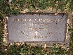 Ellen M Adamovich