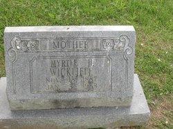 Myrtle <I>Holmes</I> Wickliffe