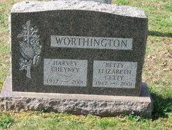Elizabeth May <I>Getty</I> Worthington