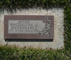 Magdalena <I>Garcia</I> Manzanares