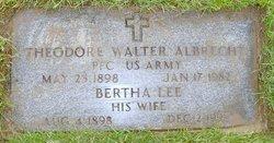 Bertha Lee <I>Clinton</I> Albrecht