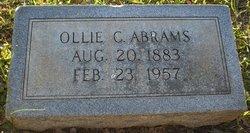 Ollie Belle <I>Chappell</I> Abrams