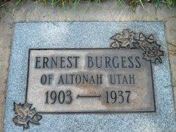 Earnest Burgess