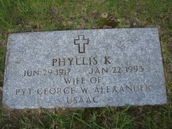 Phyllis Constance <I>King</I> Alexander