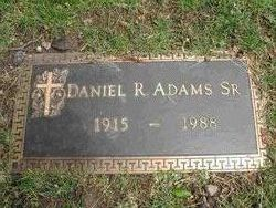 Daniel R Adams, Sr