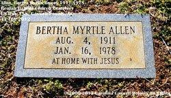 Bertha Myrtle <I>Bowes</I> Allen