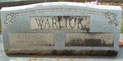 B. Franklin Warlick