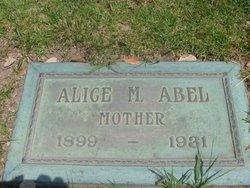Alice M. <I>Reithmore</I> Abel