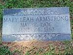 Mary Leah <I>Reynolds</I> Armstrong