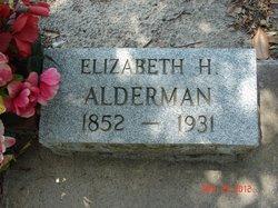 Elizabeth H. Alderman