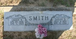 Sarah Eliza <I>Bicknell</I> Smith