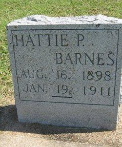 Hattie Pauline Barnes