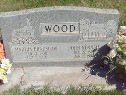 Martha <I>Bradshaw</I> Wood