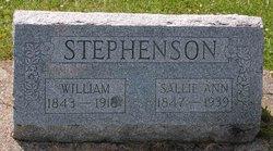 "Sarah Ann ""Sallie"" <I>Gulick</I> Stephenson"