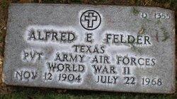 Alfred E Felder